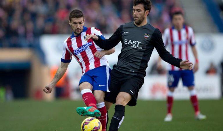 Atlético de Madrid y Levante se enfrentan en el Wanda Metropolitano