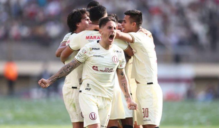El clásico de la liga peruana Universitario vs Alianza Lima